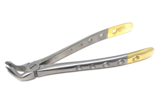 F2 Dental Lower Universal Extracting Forceps - Diamond Dusted tips- Heavy Duty