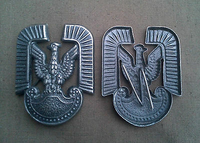 Polen Mützenkokarde Mütze Armee Polska