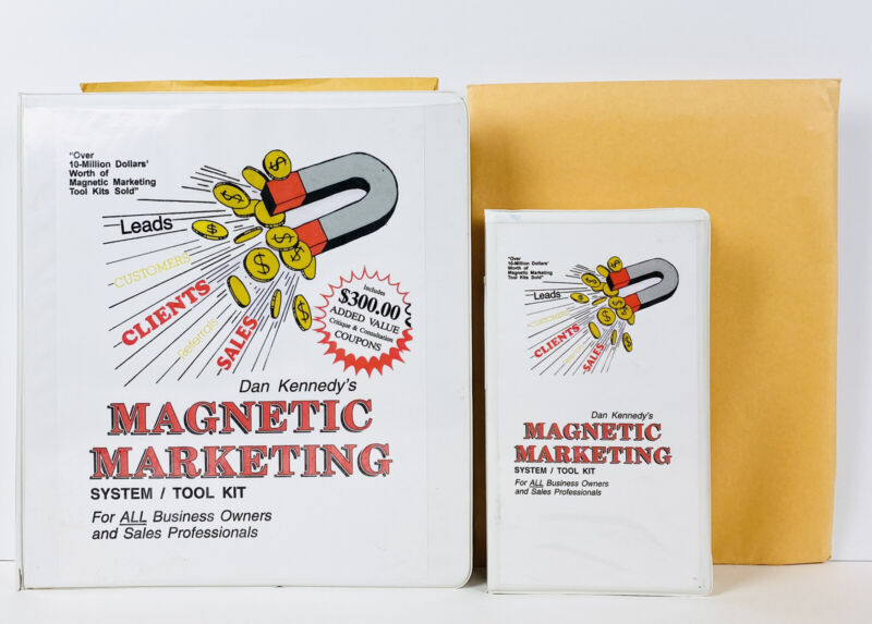 Dan Kennedy MAGNETIC MARKETING with Supplement/Reports