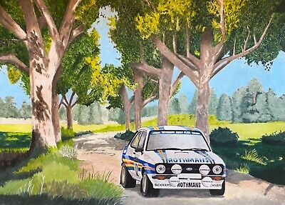Rally Car limited edition A4 motorsport prints FREE UK P&P. 7 different designs