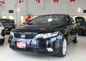 2010 Kia Forte 2.4L SX LEATHER/ROOF/HEATED SEATS