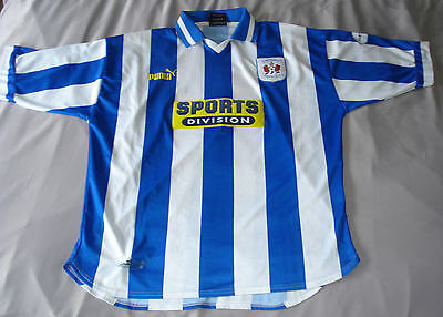 Official Ally McCoist Kilmarnock Football Club (KFC) Players Shirt 1998 SPL image