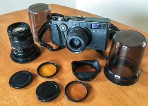 Hasselblad XPan 35mm Rangefinder Film Camera Body + 45 AND 90mm Lenses