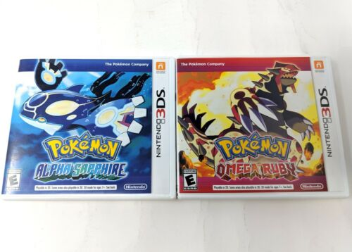 Pokemon Omega Ruby & Alpha Sapphire Case Only No Game