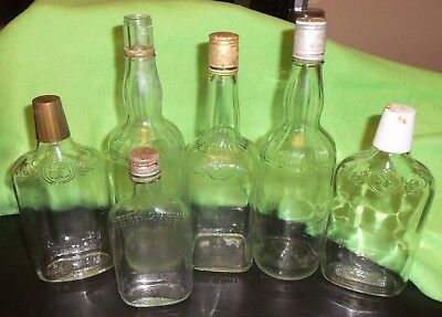 National Distillers Old Sunny Brook Liquor Bottles 4/5 Quart One Pint Half Pint