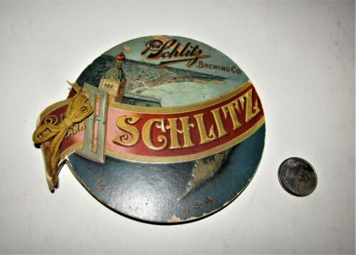 SCHLITZ BREWERY FOLD-OUT 1893 World