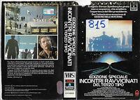 Incontri Ravvicinati Del Terzo Tipo Edizione Speciale (1977) Vhs Ex Noleggio -  - ebay.it