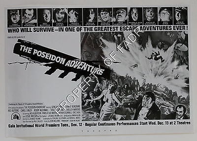 """""""THE POSEIDON ADVENTURE"""" (1972, directed by Ronald Neame)"""