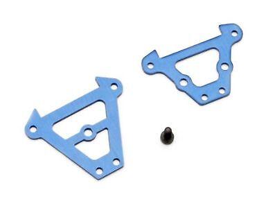 Anodized Aluminum Rear Bulkhead (Traxxas 7023 Blue-Anodized Aluminum Bulkhead Tie Bars Front and Rear )