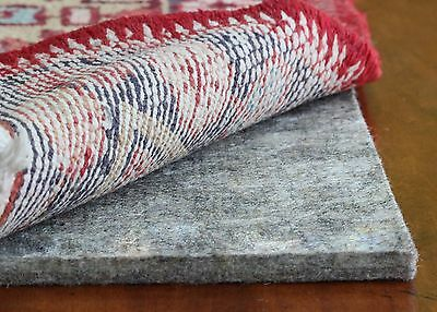 Rug Pad USA, Eco Plush Felt Rug Pads, Cushioned Rug Padding for Hardwood Floors