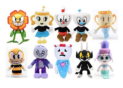 Cuphead & Mugman Ghost Kelch Legendary Dice Plüschfigur Spielzeug Weihnachten