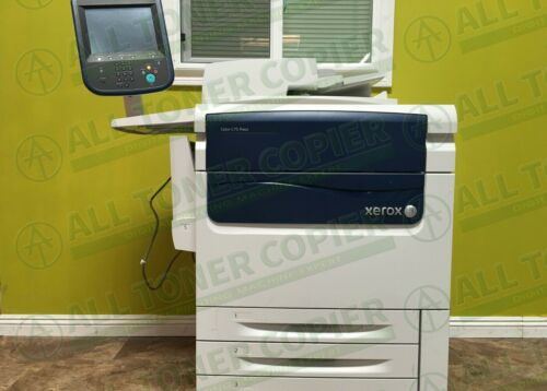 Xerox C75 Press Color Commercial Laser Printer Copier Scan Fiery Finisher 75PPM