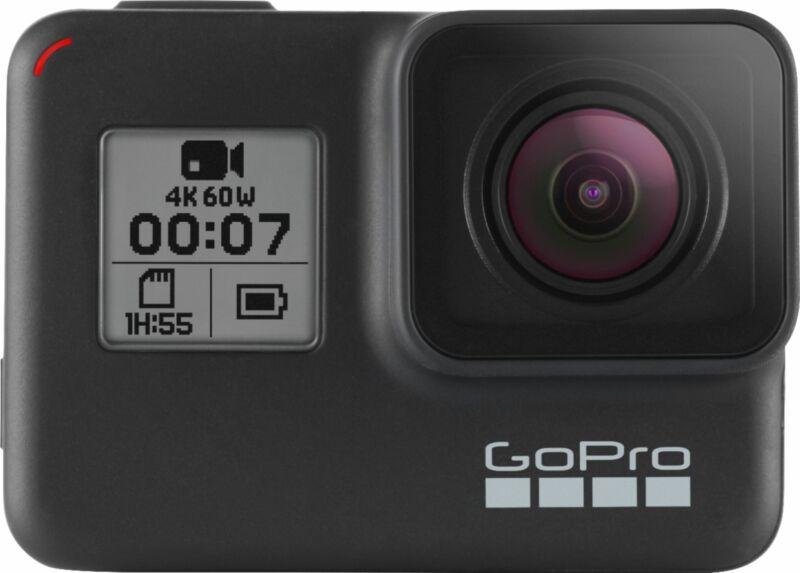 GoPro - HERO7 Black 4K Waterproof Action Camera - Black