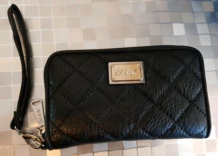 Ooh La La Black Leather Ladies Wallet