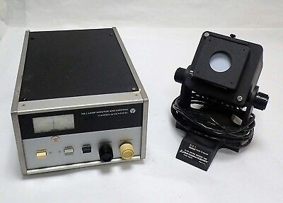 Gamma Scientific Rs-1 Lamp Monitor Control W Rs-10a Spectral Irradiance Head