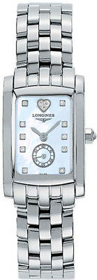 L5.155.4.92.6 | NEW LONGINES DOLCEVITA BLUE MOTHER OF PEARL DIAMOND WOMENS WATCH