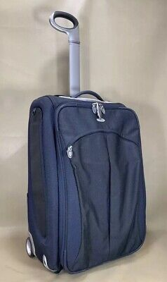 """Used Tumi T3 Transporter 24"""" Wheeled Upright Short Trip Suitcase 6444STB Blue"""