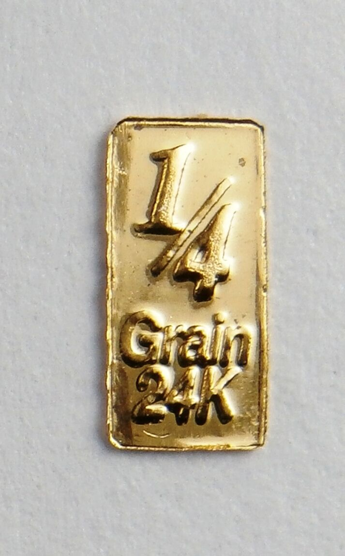 6 X GOLD BULLION TIMES 6 PURE 24K GOLD BARS D19dSHIPS FREE IF YOU BUY 2 OR MORE