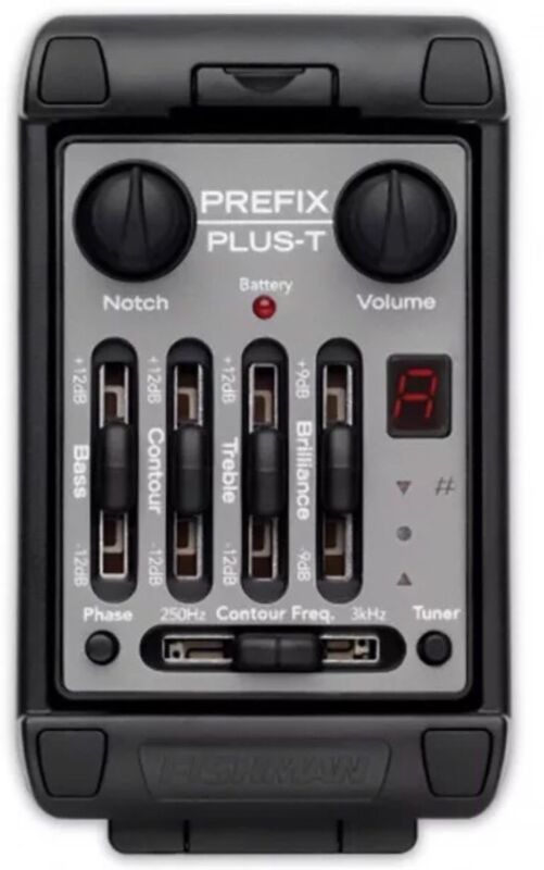 Fishman Prefix Plus-T Side-mount Guitar Preamp=