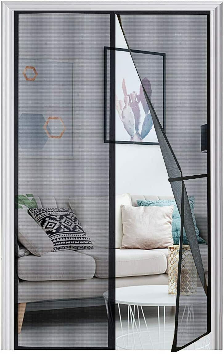 Anti Mosquito Mesh Curtains Magnetic Screen Door Insect Fly