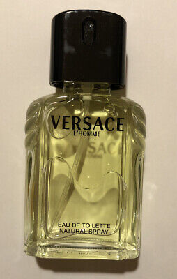 VERSACE L'HOMME By Versace Eau De Toilette 3.4oz 100ml NEW NEVER OPENED Tester