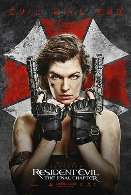 Resident Evil The Final Chapter Movie Poster 18 X 28 Id 3