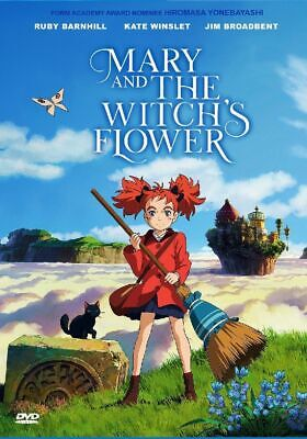 Anime DVD Mary And The Witch's Flower The Movie (2017) English Dubbed Free Ship - 2017 Animated Movies