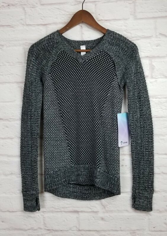 Ivivva Busy To Be Cozy Pullover Sweater Girls Size 10 Nwt