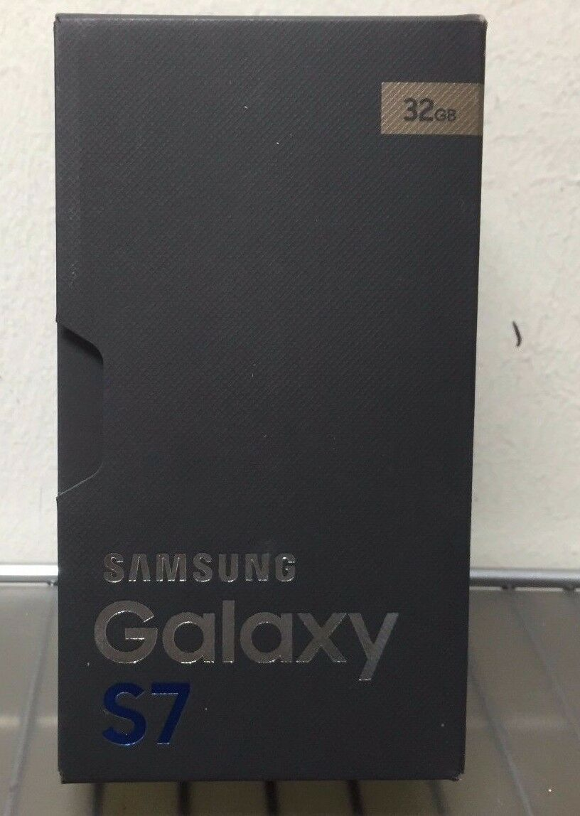 New Inbox Unlocked Samsung Galaxy S7 Sm-g930a - 32gb At&t Tm Gold Platinum
