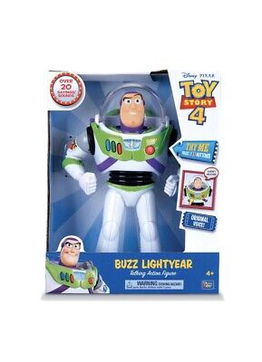 Disney-pixar toy story buzz lightyear talking action figure for sale  Shipping to India