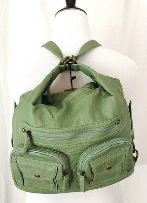 Женские клатчи Womens Backpack Handbag Sage