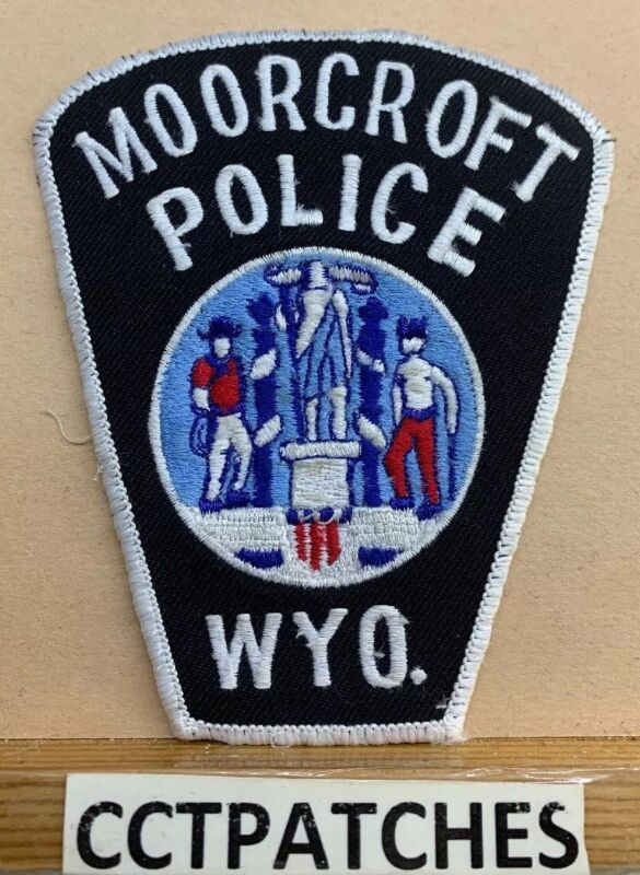 MOORCROFT, WYOMING POLICE SHOULDER PATCH WY