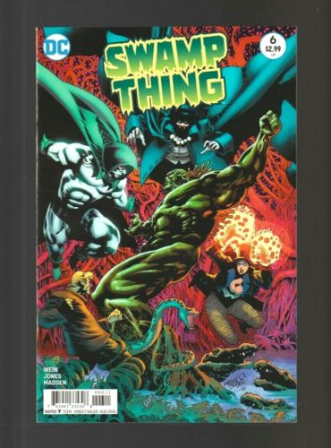 Swamp Thing (Vol 6) # 6 (DC 2016 Len Wein VF / NM) Flat Rate Combined Shipping!