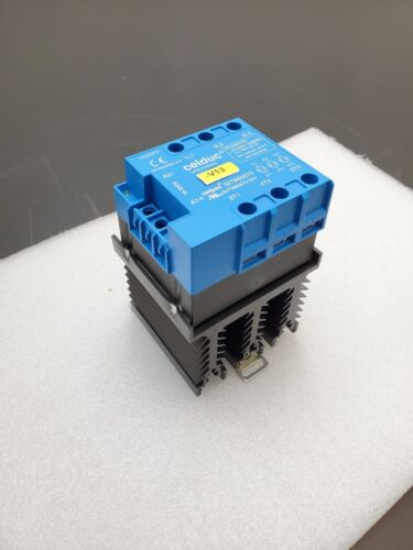 Celduc SIT865570 3 PH Phase Solid State Contactor 10-30VDC Input 24-520VAC 3x22A