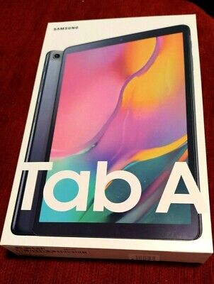 "Samsung Galaxy Tab A 2019 10.1"" SM-T510 WiFi 32GB NUOVO Tablet Black Nero+cover"