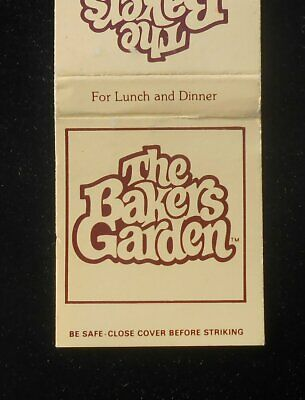 1980s? The Bakers Garden For Lunch and Dinner Mall Hall Plymouth Meeting PA (The Gardens Mall)