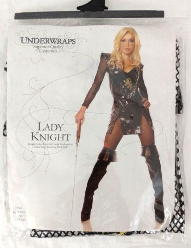 Halloween Cosplay Costume Womens Medium Cute Sexy Lady Knight Renaissance