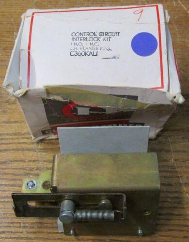 NEW NOS Cutler Hammer C360KAL1 Control Circuit Interlock