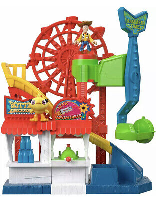 Fisher-Price Disney Pixar Toy Story 4 Carnival Playset Imaginext - Damaged Box