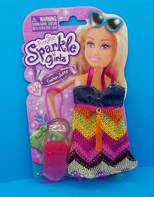 NEW! FUNVILLE SPARKLE GIRLZ FASHION OUTFIT 12
