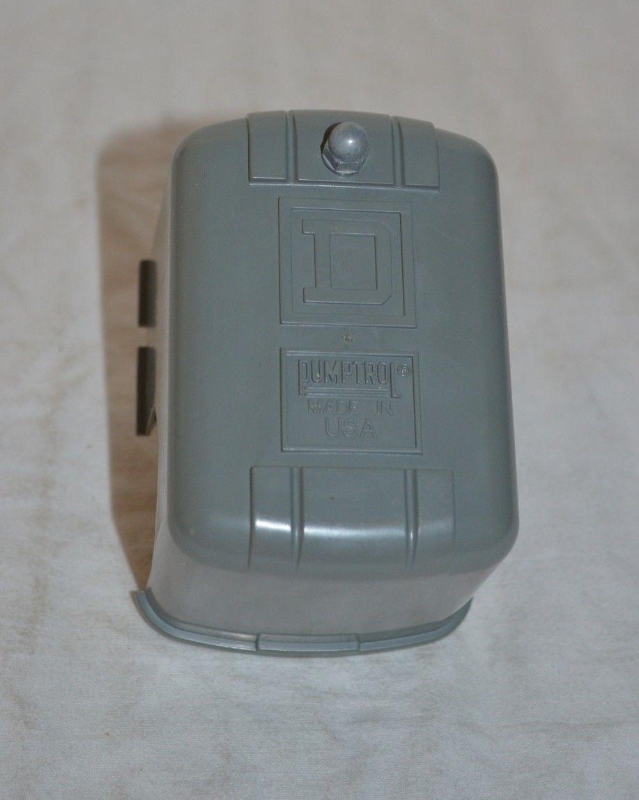 Square D Pressure Switch Type Fsg-2 Series B Class 9013 Plumbing Water  Pumptrol   eBay