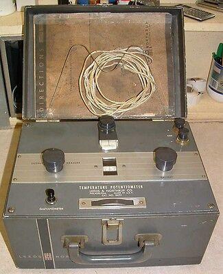 Leeds Northrup Model 8692 Type K Temperature Potentiometer