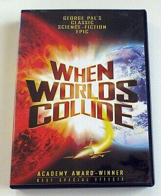 DVD - When Worlds Collide - Richard Derr, Barbara Rush, Peter Hanson comprar usado  Enviando para Brazil