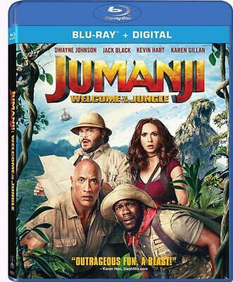Jumanji: Welcome to the Jungle (Blu-ray / Digital, 2018) NEW