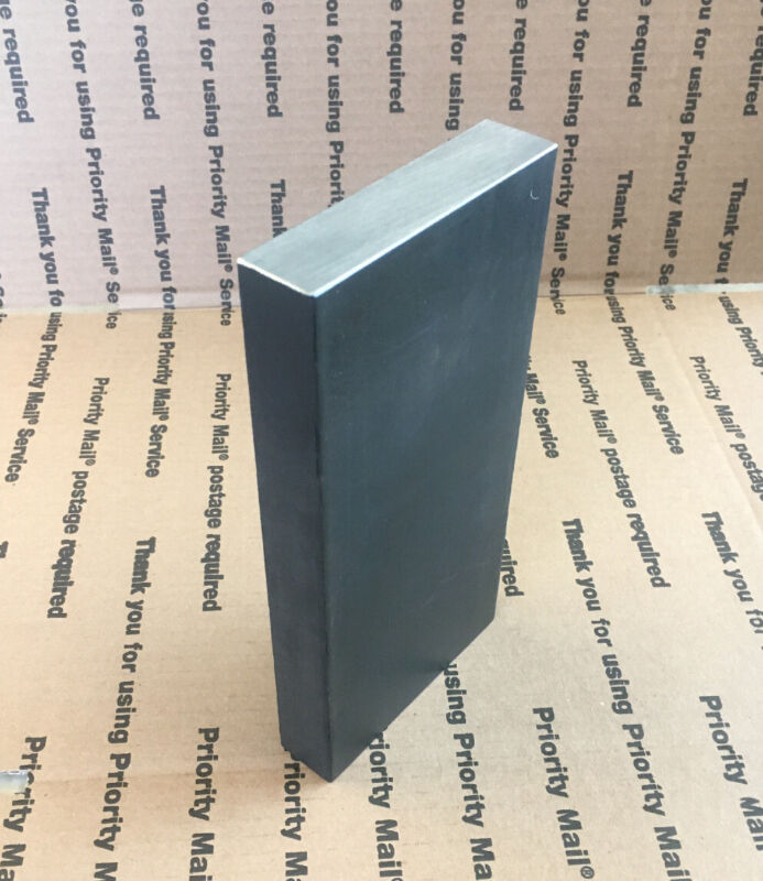 "1 X 4 Flat Steel Bar THICK Blacksmith Bench Plate Welding Bracing Target 8"" Long"