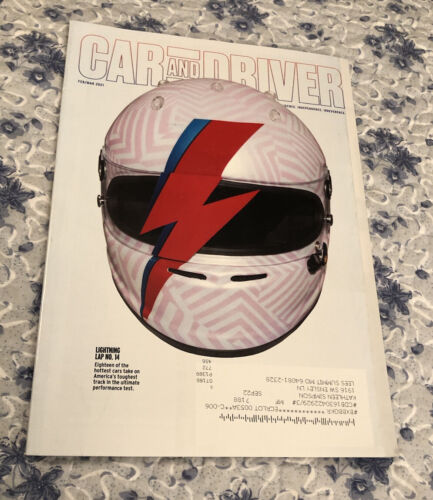 CAR AND DRIVER MAGAZINE February/March 2021 LIGHTNING LAP NO. 14 18 Hottest Cars - $2.00