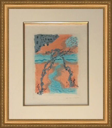 "Andre Masson ""les Erophages X"" 1962 