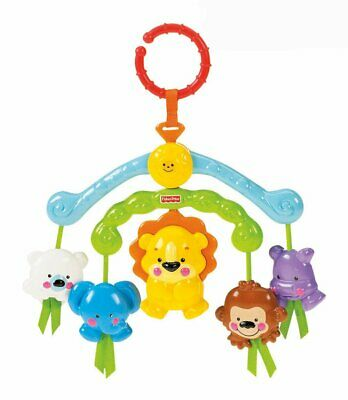 Fisher-Price Precious Planet Link & Chime Friends On-the-Go Mini Mobile - R9681