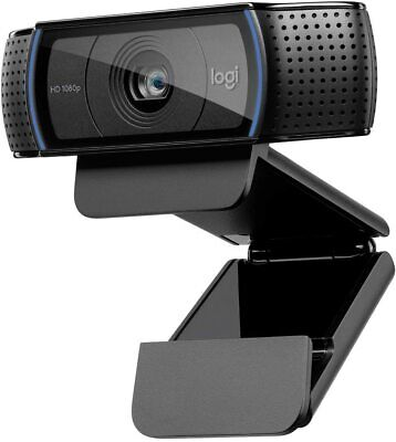 Logitech C920x Pro HD Webcam Full 1080p USB Connect IN HAND