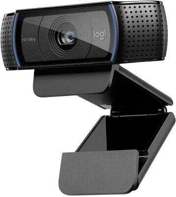 Logitech C920 Pro Webcam, HD 1080p Video Streaming/Calling/Recording, 960-000764
